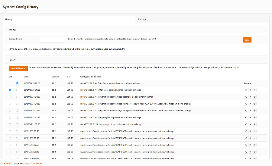 Screenshot-Config-History